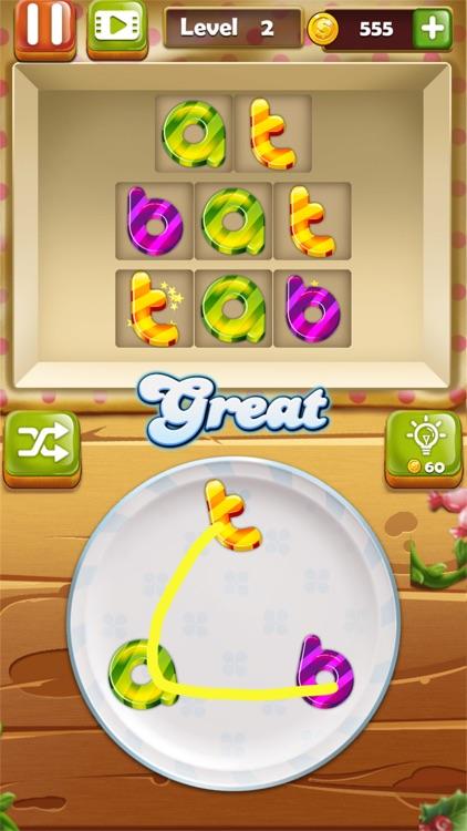 Word Candies - Puzzle screenshot-4