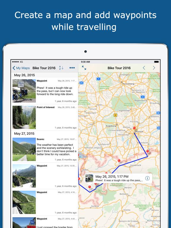 TrackMyTour by Christopher Meyer (iOS, United States