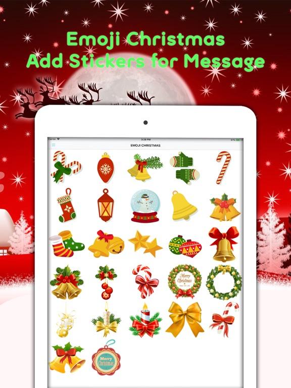 Christmas Emojis & Animated Screenshots
