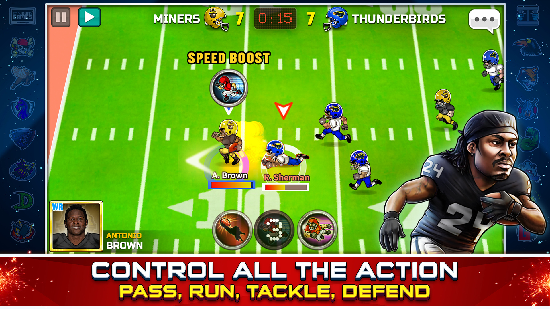Football Heroes Pro Online - NFL Players Unleashed screenshot 13