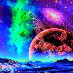 Alien Worlds Music Visualizer