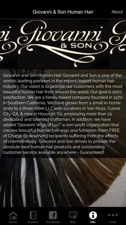 Giovanni & Son Human Hair