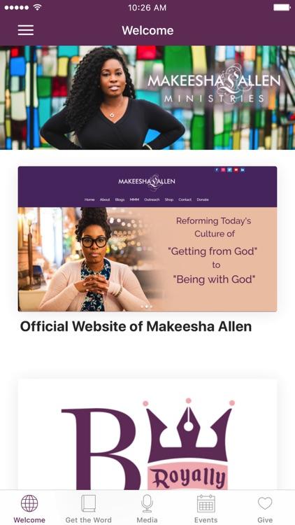 Makeesha L. Allen Ministries