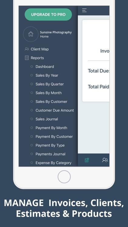 Invoice Maker Accounting App.s screenshot-4
