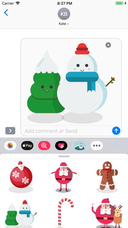 Top Christmas Stickers screenshot-3