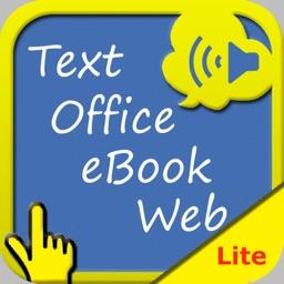 SpeakText for Me Lite (Speak & Translate Web/Doc)