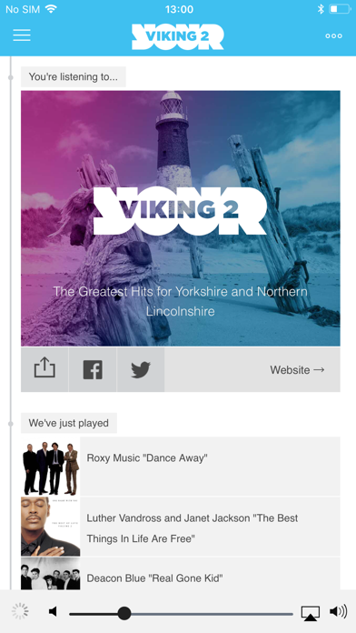 Viking Radio screenshot three