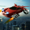 Japa Puissaa - Flying Futuristic Ultimate stunt shooting car artwork
