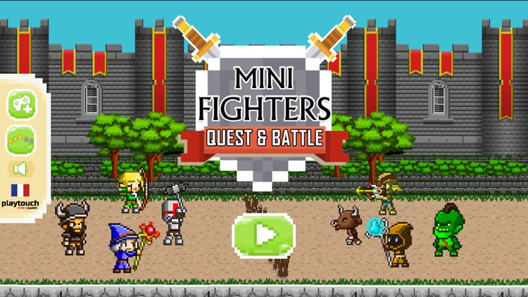 Mini Fighters : Quest & battle screenshot-4