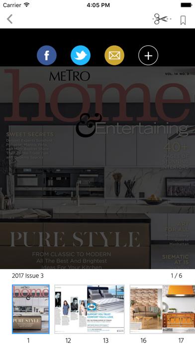 Metro Home and Entertaining screenshot 2