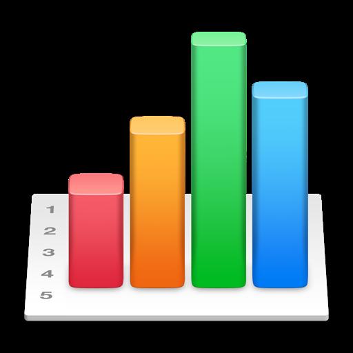 苹果开发的电子表单 Numbers for Mac