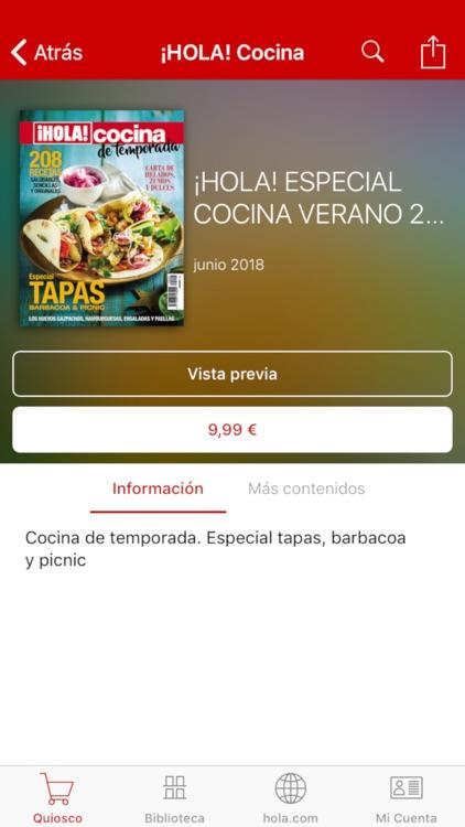 ¡HOLA! ESPAÑA Revista impresa screenshot-3