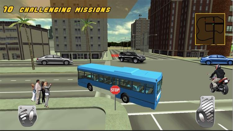 Bus Driver 3D Army Simulator screenshot-4