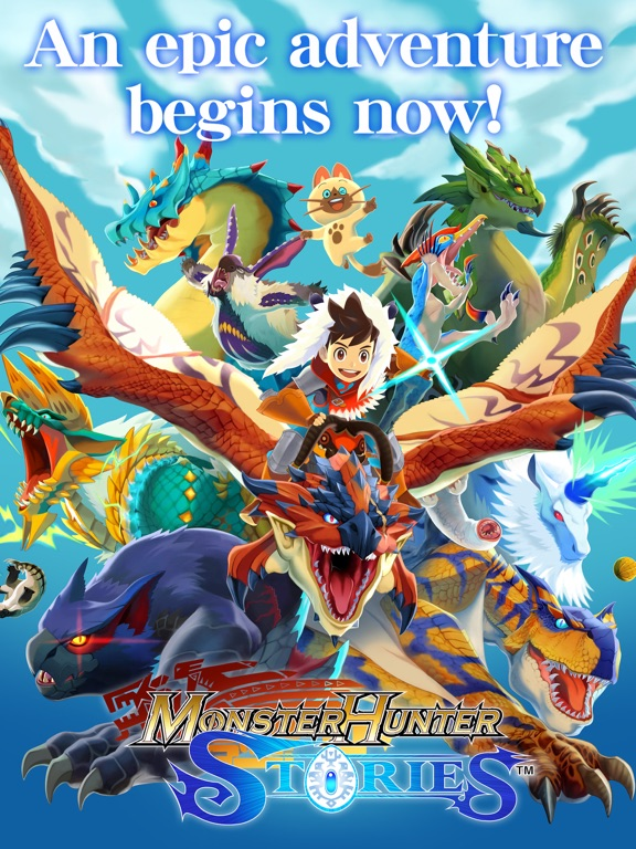 Monster Hunter Stories screenshot #1