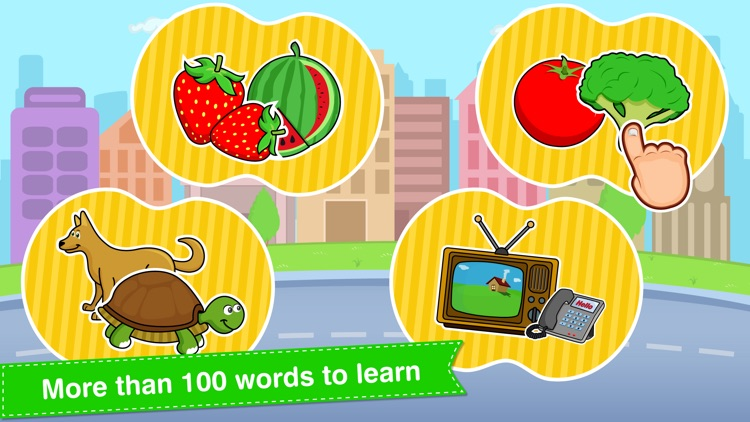 Tabbydo Learn First Words in English for Kids screenshot-3