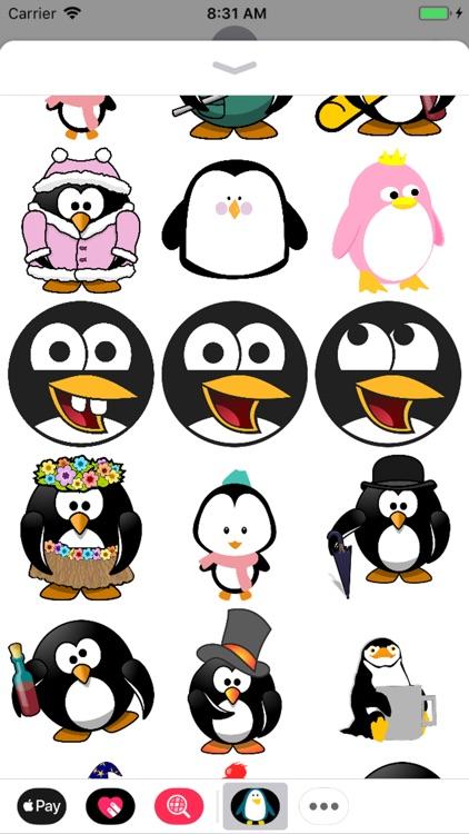 Penguin Stickers - Sid Y screenshot-4