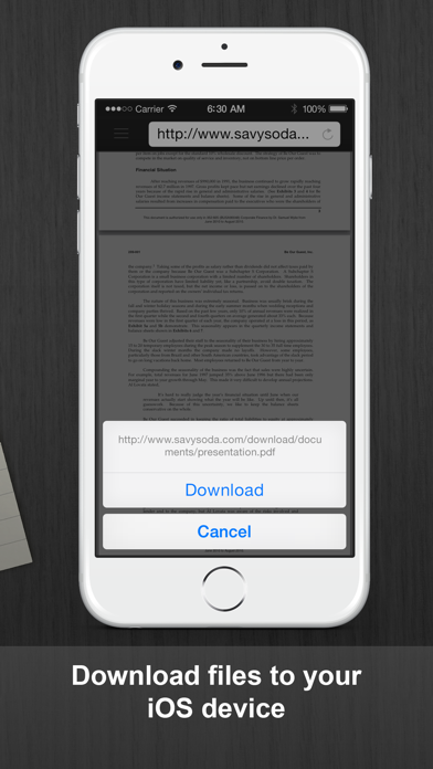 Documents Pro - Files Editor Screenshot on iOS