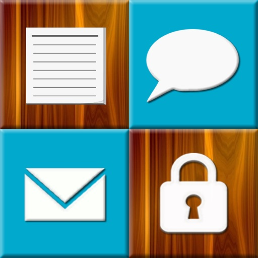 Hide My Notes,SMS and Email iOS App
