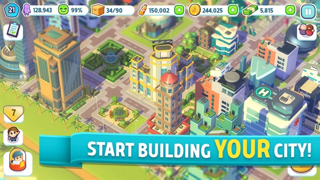 City Mania: Town Building Game on the App Store