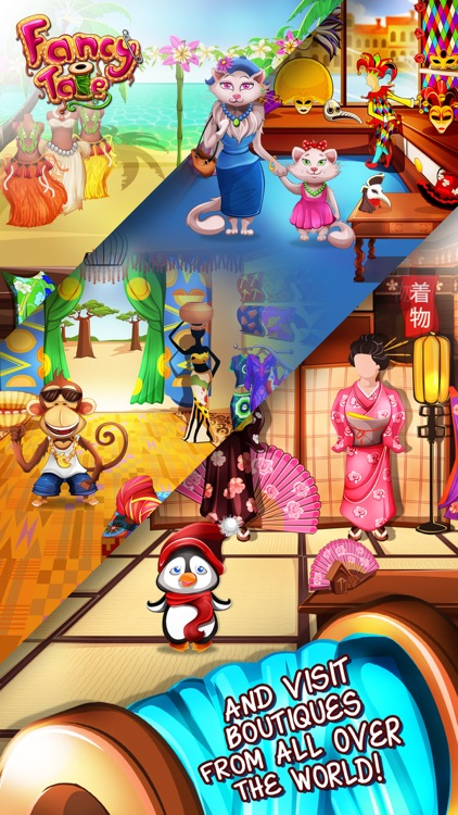 Fancy Tale - the fashion puzzle game screenshot-4