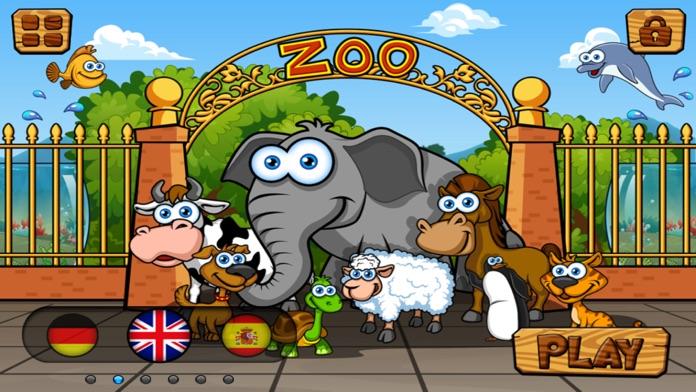 Preschool Zoo Puzzles Zoolingo Screenshot