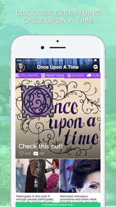 Amino for: Once Upon A Time