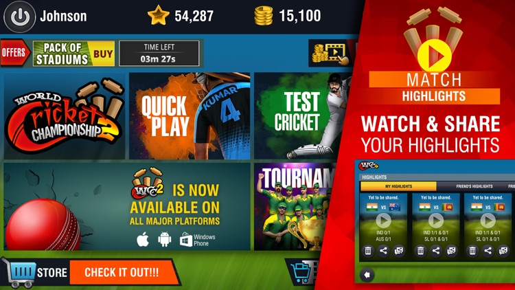 World Cricket Championship 2 screenshot-3