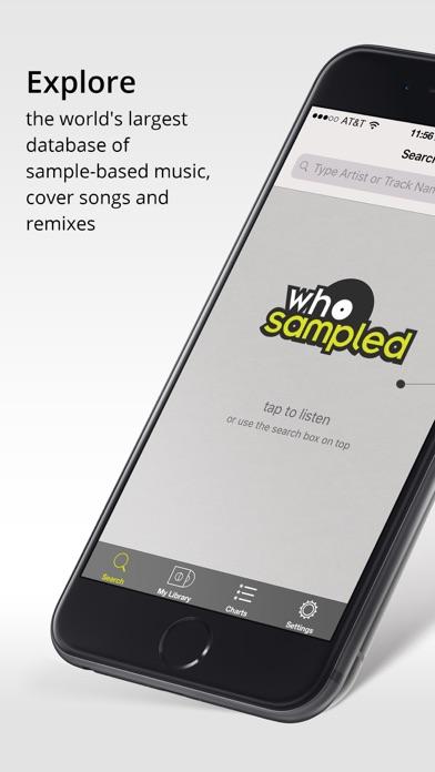 Screenshot for WhoSampled in Japan App Store