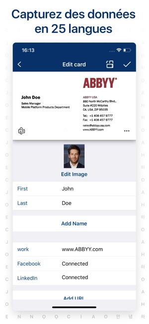 Scanner De Carte Visite App Dans LApp Store