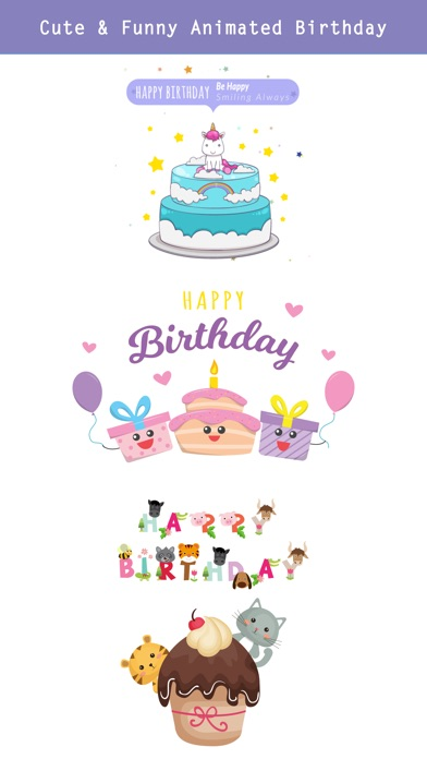 Happy Birthday - Animated screenshot 3