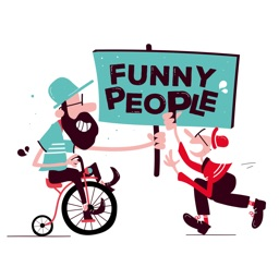 Funny People Stickers