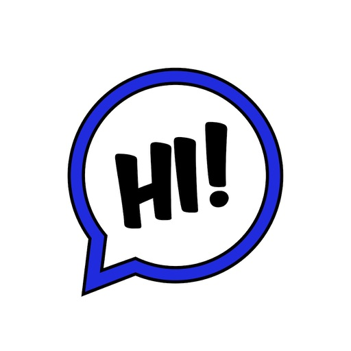 Large Text Stickers Lite