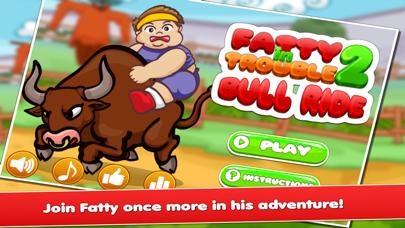 Fatty In Trouble 2 : Bull Ride screenshot one