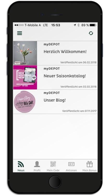 myDEPOT screenshot-3
