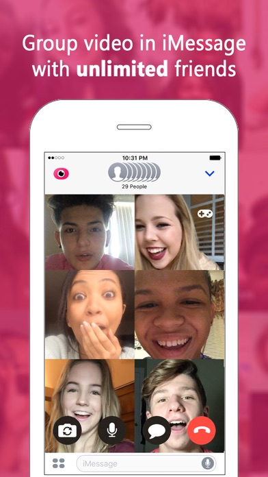 download Fam: Group video for iMessage apps 2