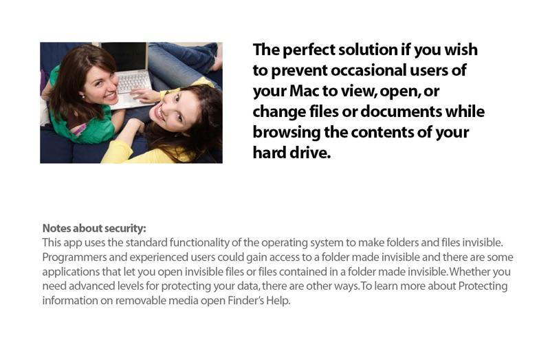 Apimac Secret Folder Screenshot