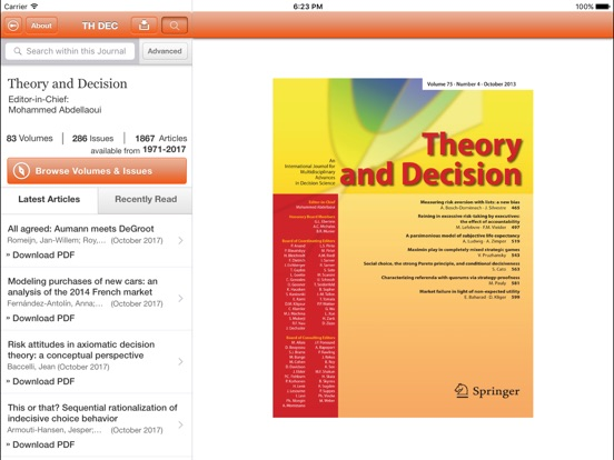 Theory and Decision-ipad-2