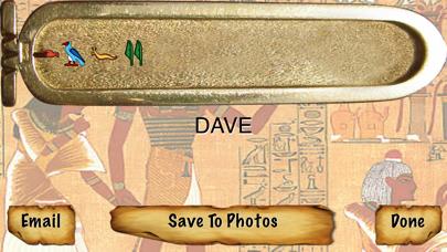 Egyptian Name in Hieroglyphicsのおすすめ画像2
