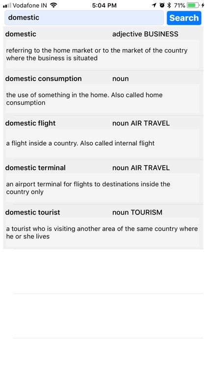 Travel & Leisure Dictionary screenshot-4