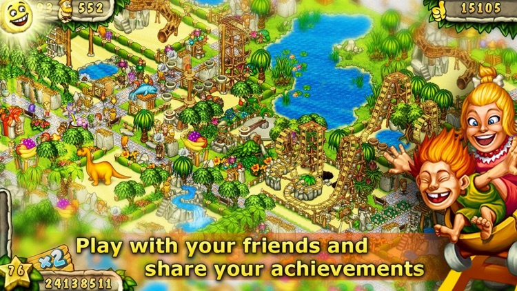 Prehistoric Fun Park Builder screenshot-3