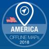 USAオフライン地図GPSナビゲータ