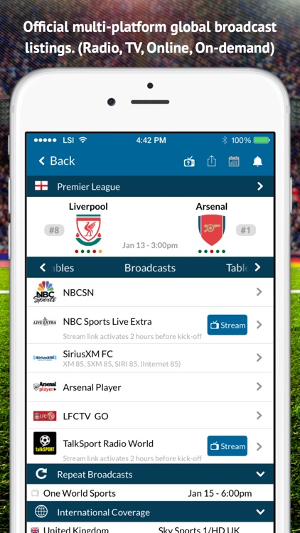 Team Soccer Apps