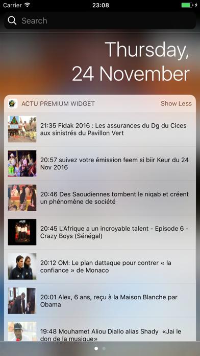Actu Sénégal Premium ... screenshot1