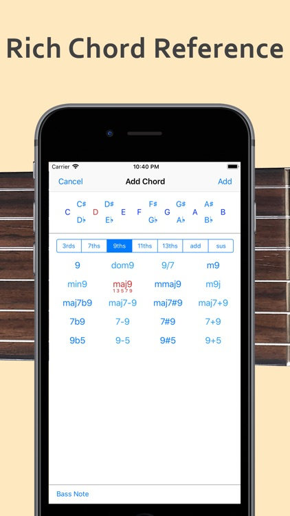 ChordAid: Chord Reference