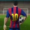 任意球的3D足球比赛