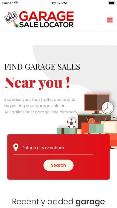 Garage Sale Locator