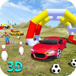 Superhero Cars Stunt Racer