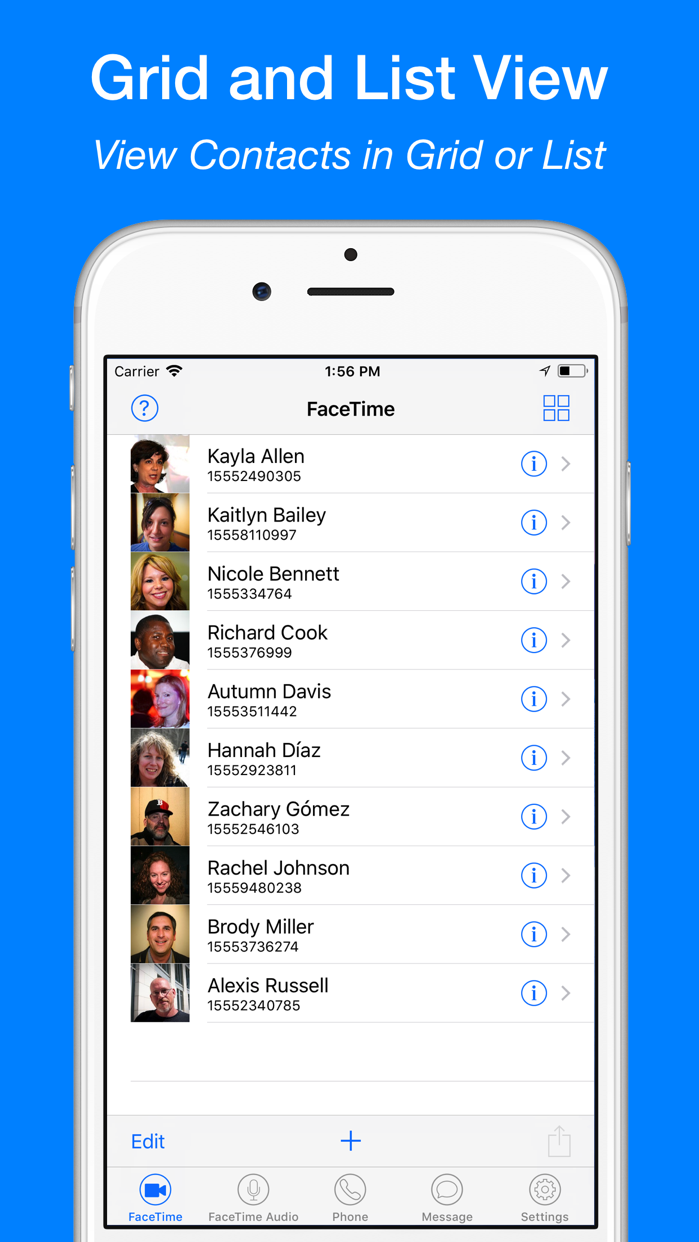 FaceTap for FaceTime Call Screenshot