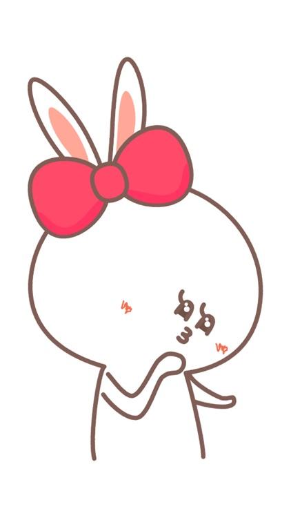 Evil tongue rabbit