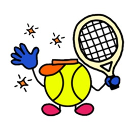TennisMoji - Tennis Emoji Sticker
